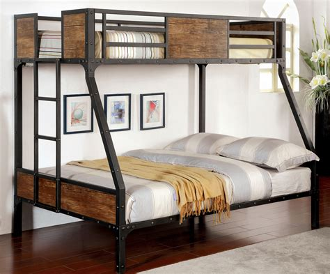 bunk style beds trend industrial style bunk beds www