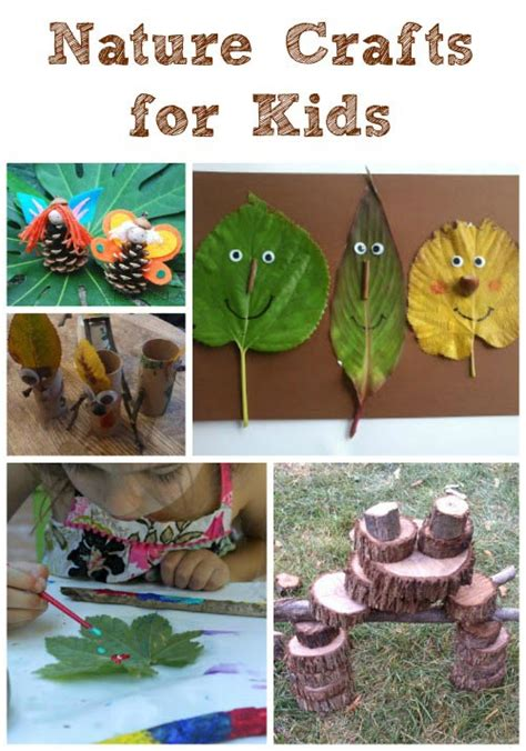 nature craft ideas for outdoor nature crafts for edventures with