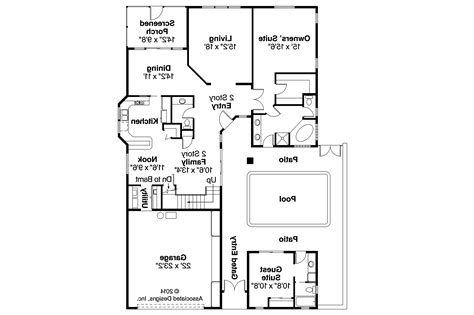 mediterranean home floor plans mediterranean house plans coronado 11 029 associated designs