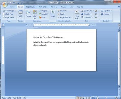 cards in word create index cards in ms word