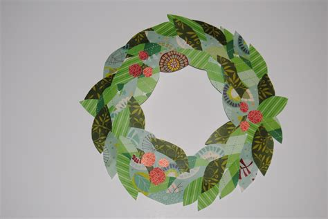 Boogaloo Paper Wreath Craft For