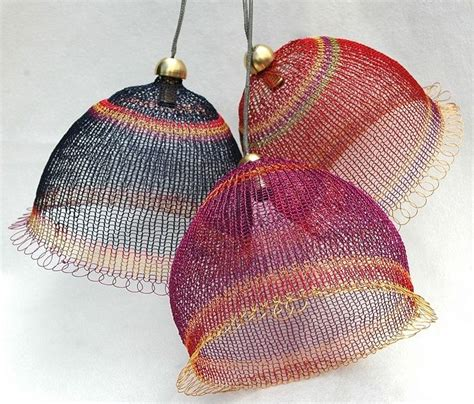 knitting with wire wire knit lightshades lshade