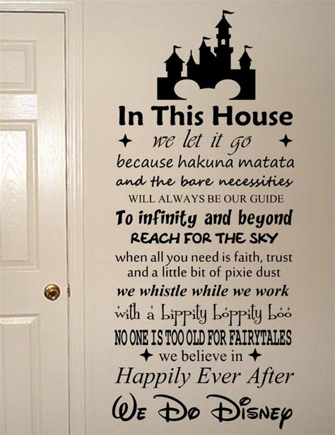 sticker sayings for walls the 25 best ideas about disney wall decals on