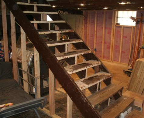 how to build basement stairs how to build stairs by choosing the materials and designs