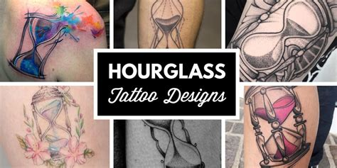 50 amazing hourglass tattoos and meanings tattooblend