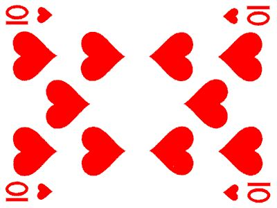 of hearts 10 of hearts jigsaw puzzle jigzone