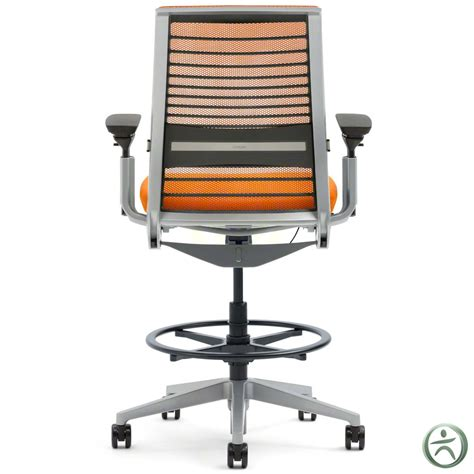 steelcase 3d knit shop steelcase think drafting stools with 3d knit back