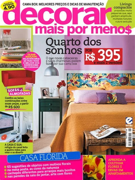 revista de decorar mais por menos revista decorar mais por menos comprando meu ap 234