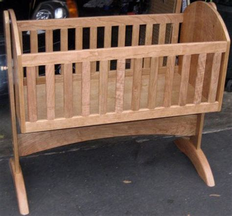 bassinet woodworking plans handmade wooden baby cradle plans studio design