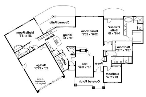 prairie style floor plans prairie style house plans laurelhurst 30 994 associated designs