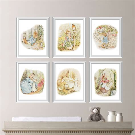 beatrix potter nursery curtains baby nursery print rabbit nursery decor