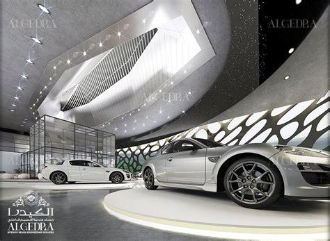 car interior design car showroom interior design in dubai algedra