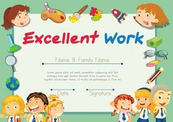 for children school certificate designs vectors photos and psd files