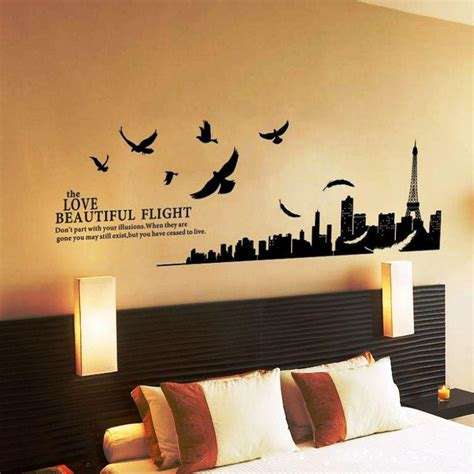 bedroom wall stickers for wall decals for master bedroom home design