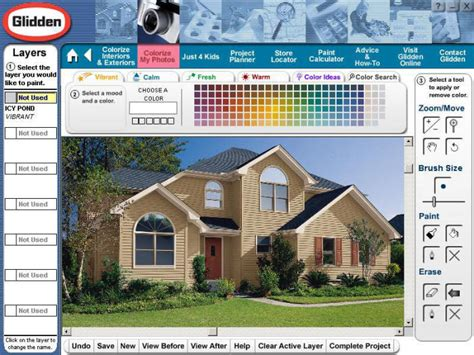 home depot paint colors software interactive color picker for glidden paint eyemg web