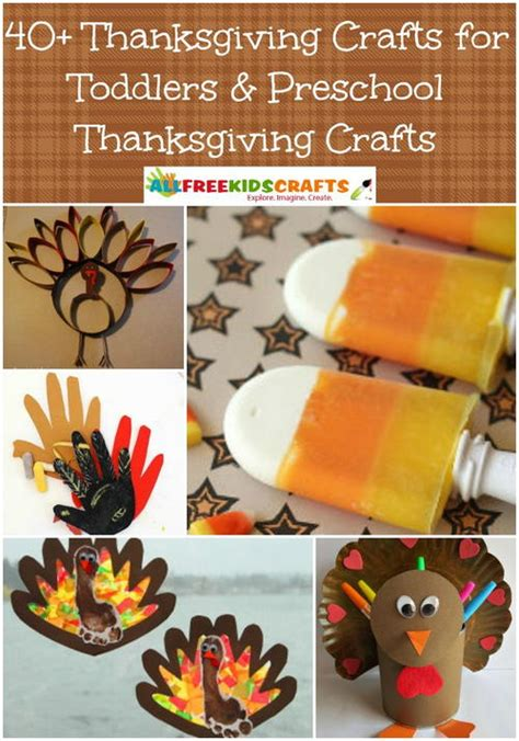 crafts for thanksgiving for 40 thanksgiving crafts for toddlers preschool