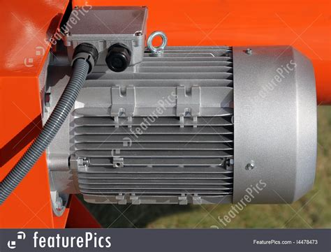 Powerful Electric Motor by Powerful Electric Motors Stock Picture I4478473 At