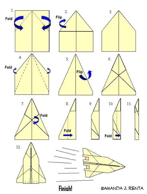 how to make a card fly around you how to make a paper airplane jet free daily 4 u