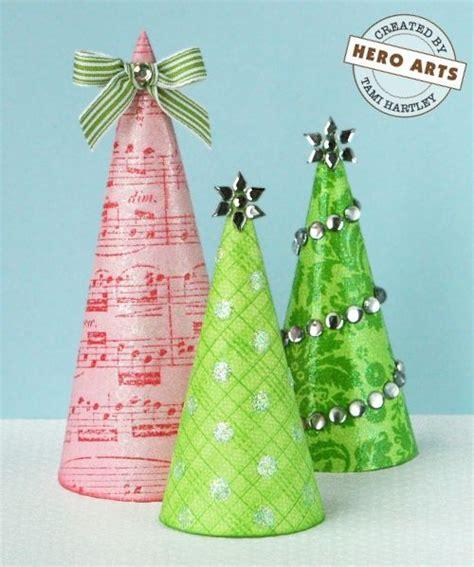 paper cone tree craft paper cone tree centerpieces