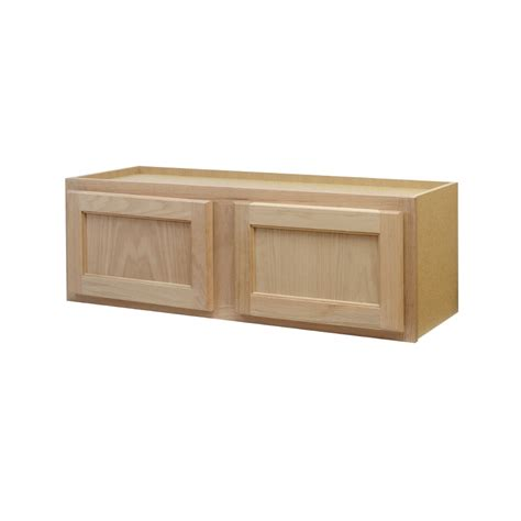 lowes cabinets unfinished shop continental cabinets inc 36 in w x 12 in h x 12 in d unfinished oak door kitchen
