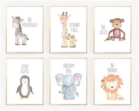 animal wall decor for nursery best 25 animal prints ideas on animal nursery