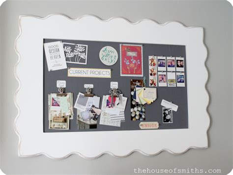 pin boards for rooms be different act normal diy framed fabric pinboard