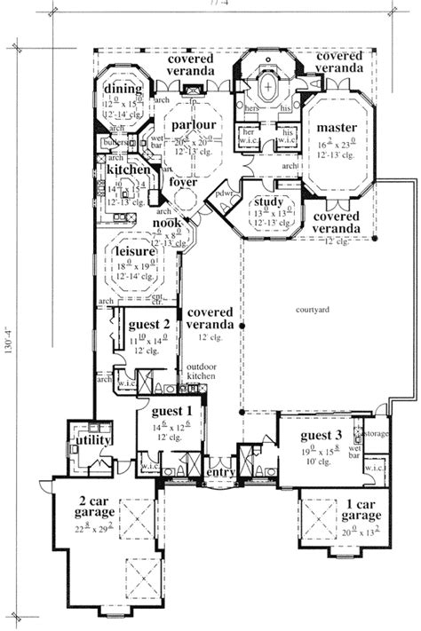 mediterranean house plans with courtyard mediterranean style house plans with courtyard home design and style