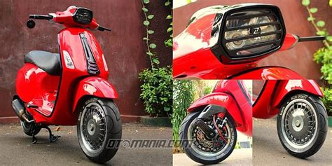 Modifikasi Vespa Sprint by Vespa Sprint Quot Racing Look Anti Mainstream Quot Pameran