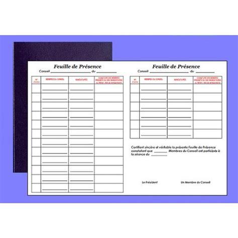 registre de pr 233 sence au conseil elve 41001 az fournitures