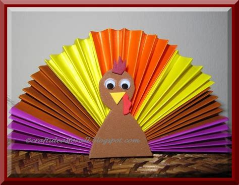 turkey craft project preschool crafts for thanksgiving origami turkey craft