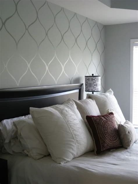 bedroom wallpaper design 25 best ideas about accent wall bedroom on
