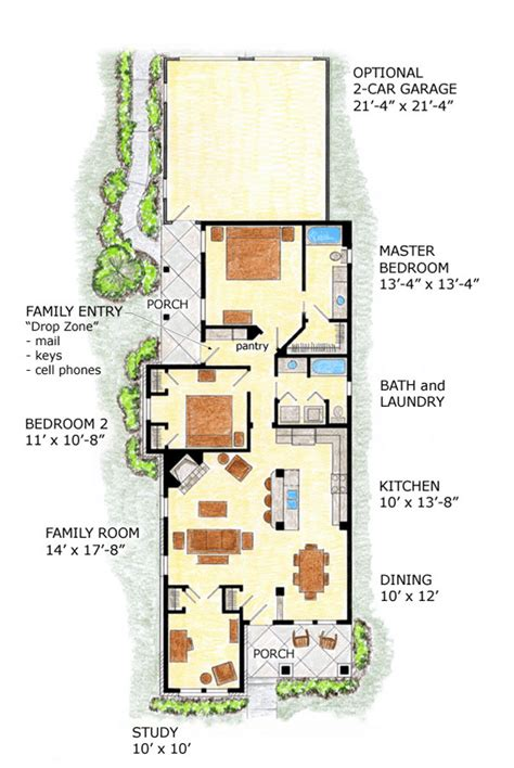 home plans for narrow lot farmhouse plans narrow lot house plans