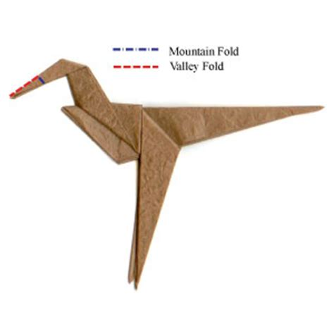 how to make an origami velociraptor how to make a simple origami velociraptor page 5