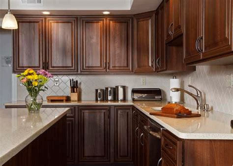 kitchen cabinets with light countertops kitchen with cabinets light countertops