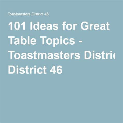 toastmasters table topics 25 best ideas about table topics on