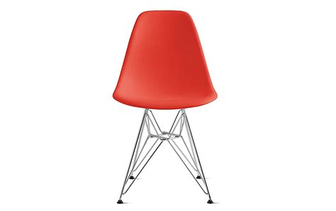 eames eiffel chairs eames molded plastic side chair wire base herman miller
