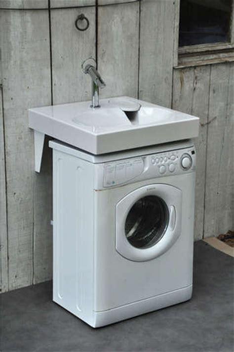 lavabo gain de place sur machine 224 laver
