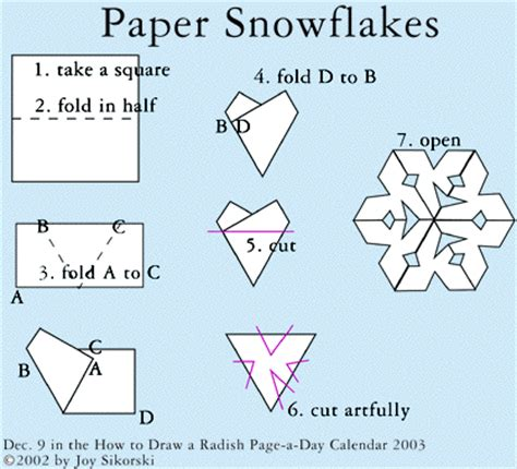 how to make a snowflake origami tissue paper snowflakes make handmade crochet craft