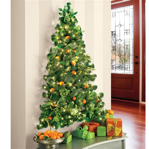 lighted tree wall hanging wall hanging pre lit tree the green