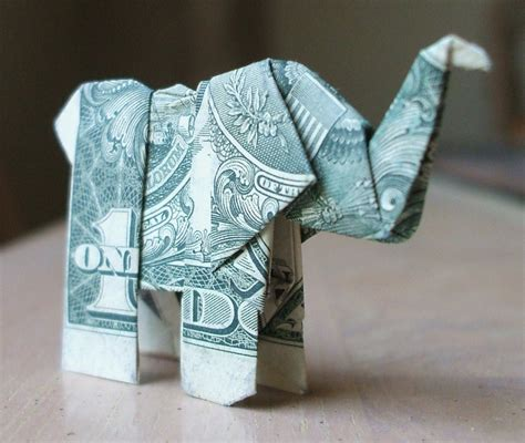 origami elephant dollar origami elephant by nes still the best on deviantart