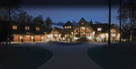 Country Style Homes Interior timber frame homes by mill creek post amp beam company