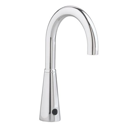 electronic kitchen faucet american standard 6055 165 002 polished chrome electronic gooseneck bathroom faucet with