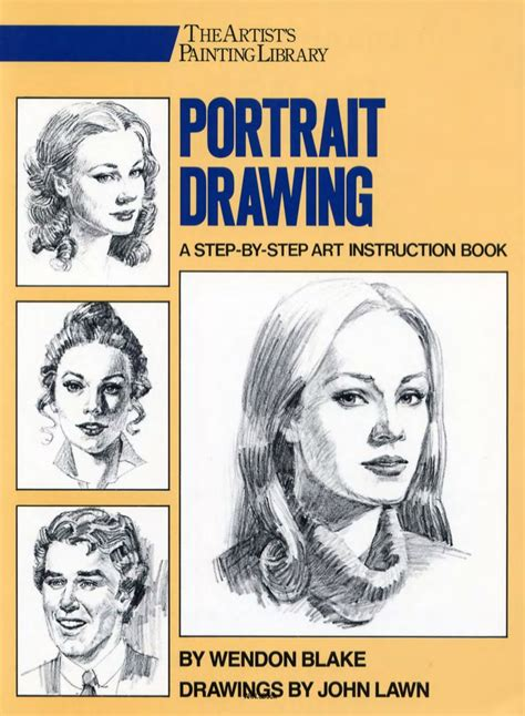 how to draw books pdf lawn portrait drawing a step by step