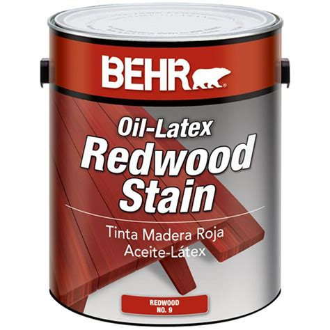 home depot paint for wood behr 1 gal sc 330 redwood solid color waterproofing wood