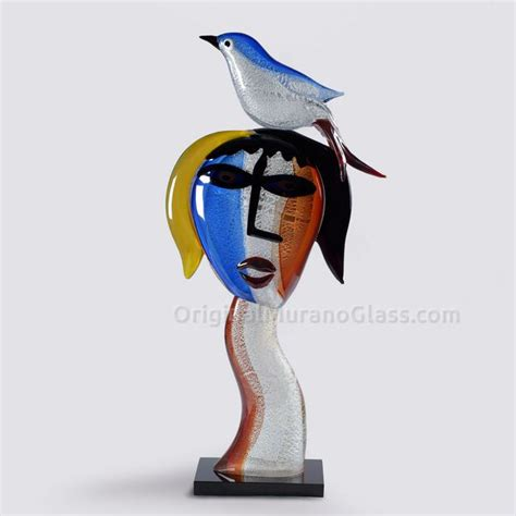 picasso glass sculptures and statues collection tribute to pablo