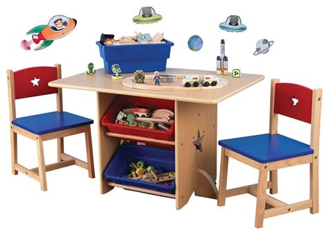 kid craft table and chairs kidkraft room homework activity play