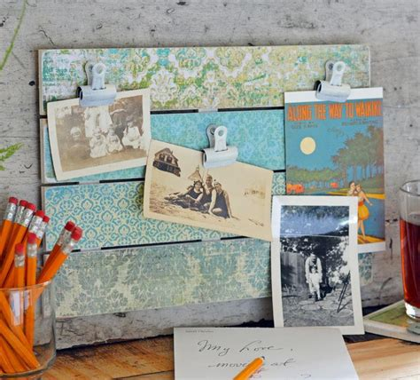vintage paper crafts vintage paper craft photo display idea