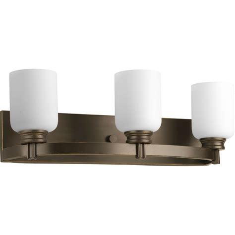 home depot bathroom lights progress lighting orbit collection antique bronze 3 light