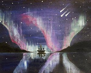 paint nite groupon salt lake 17 best images about watercolor northern lights on