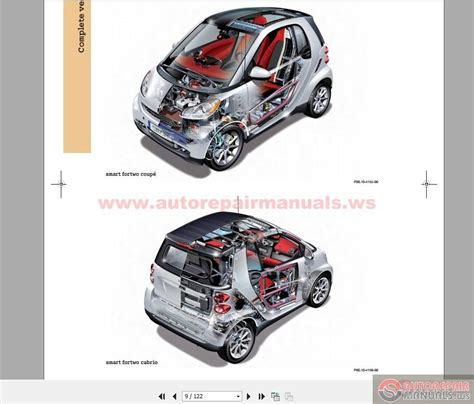 auto service manual be smart to learn automotive fortwo benz smart car series 451 auto repair manual forum heavy equipment forums download